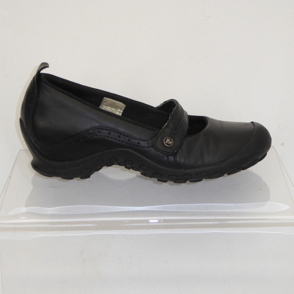 365f1bf4fe75a Merrell Black Mary Jane Shoes Size 7  020